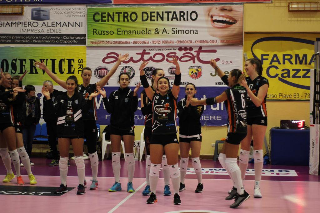 Serie A2: Un Cuore di Mamma strepitoso batte la capolista Perugia per 3-1 In trasferta!