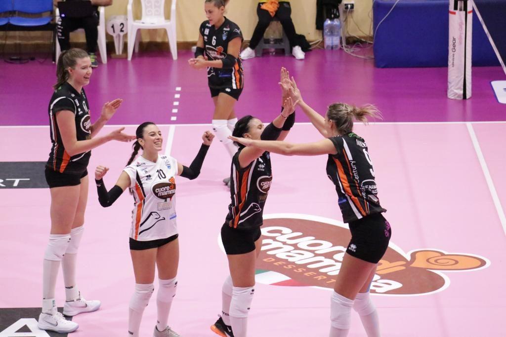 Serie A2: Il derby delle Città della Ceramica va al CUORE DI MAMMA. 3-0 al Sassuolo!