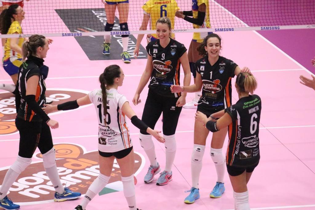 Serie A2: Il Cuore di Mamma si regala un punto contro Trento!