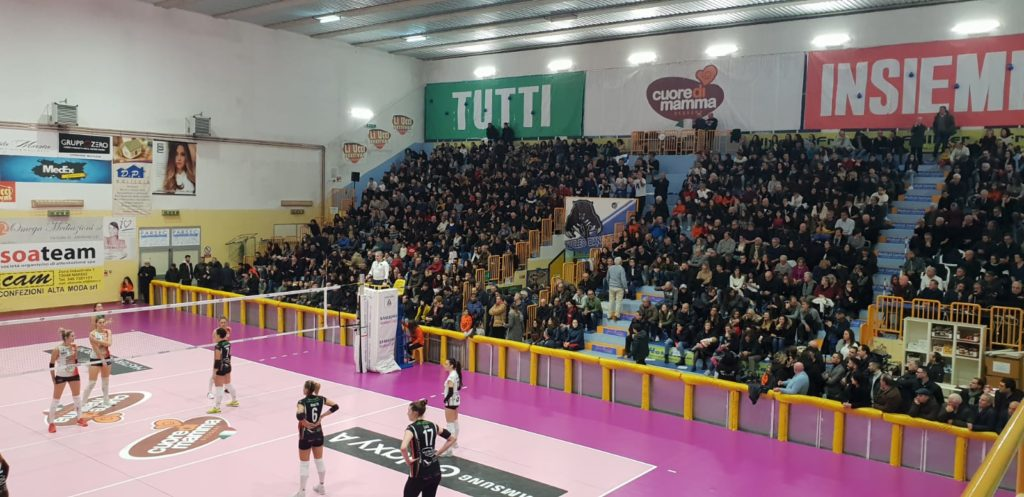 Serie A2: CUORE DI MAMMA sconfitto in casa da Montecchio.